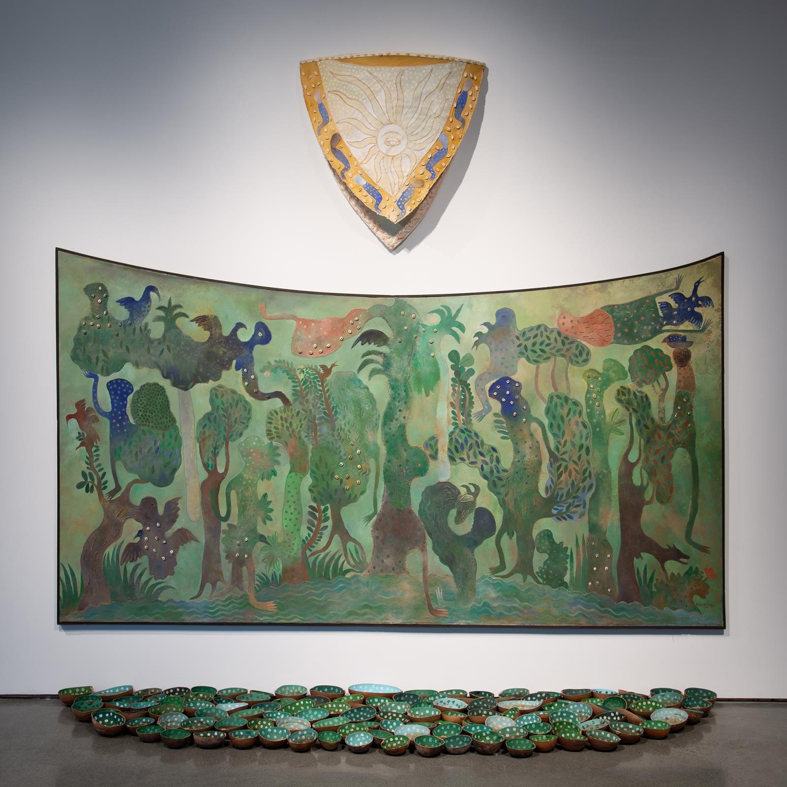 Manuel Mendive, The landscape and its owner, 2010